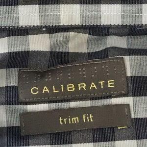 Calibrate trim fit button down size L